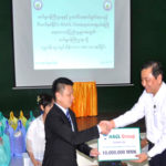 HAGL Group Donated 10 million Kyats for Flood Rehabilitation.